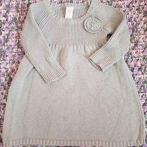 OshKosh 12 month sparkly gray dress